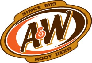 A&W Root Beer Brand Colors