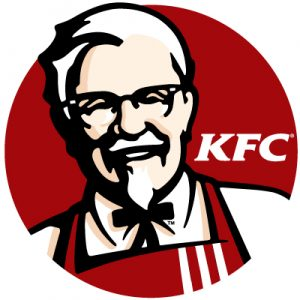 Kentucky Fried Chicken Brand Colors
