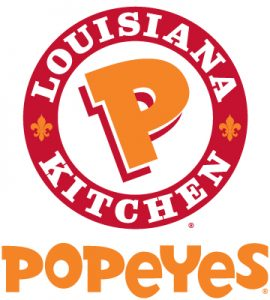 Popeyes Louisiana Kitchen Brand Colors