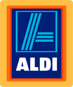 Aldi Brand Colors