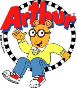 Arthur TV Show Brand Colors