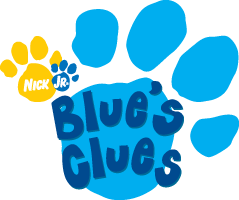 Blue's Clues TV Show Brand Colors