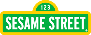 Sesame Street TV Show Brand Colors