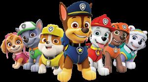 Paw Patrol Pups Colors